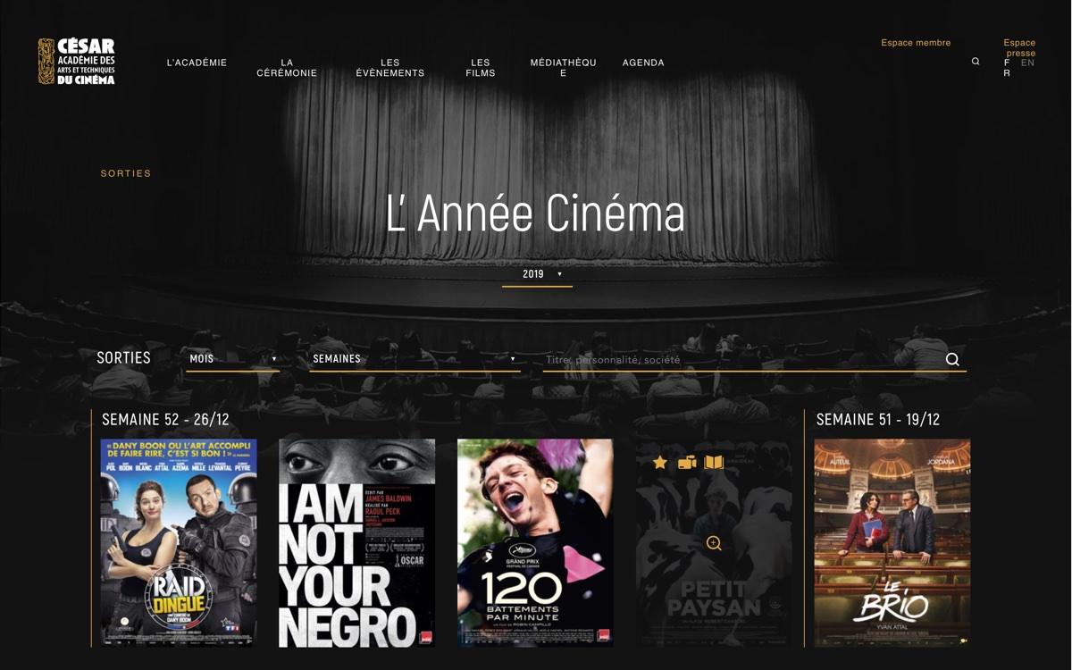 Année Cinéma