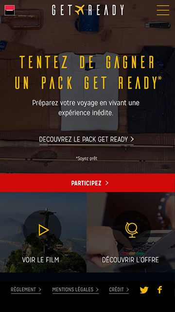pack get ready maquette