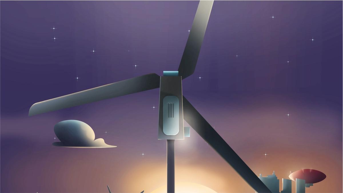 Illustration éolienne 2 amundi