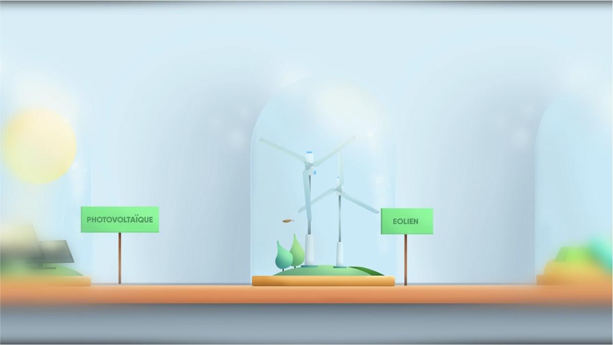 Illustration éolienne Amundi